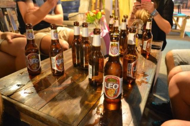 Leo beer Thailand