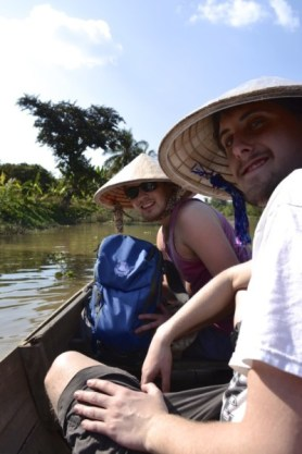 Mekong Delta Vietnam boat