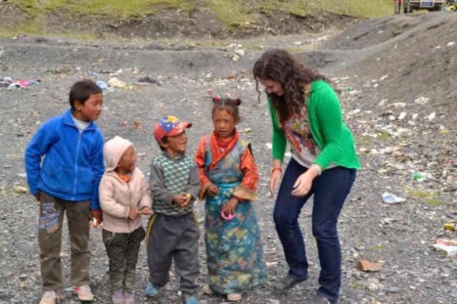 little kids Tibet
