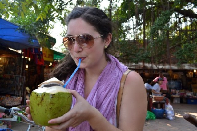 coconut Thailand drink