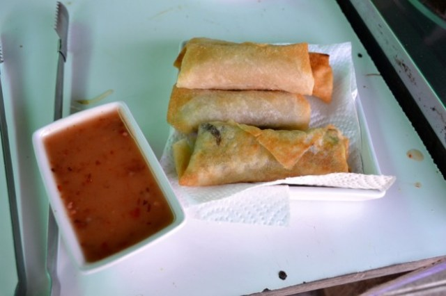 spring rolls cooking class