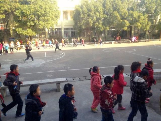 Chinese children PE