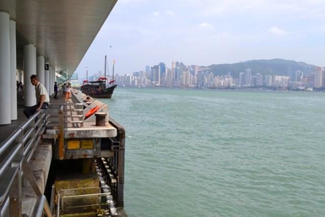 Hong Kong's harbor