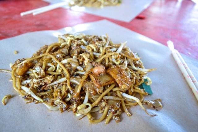 banana leaf noodles