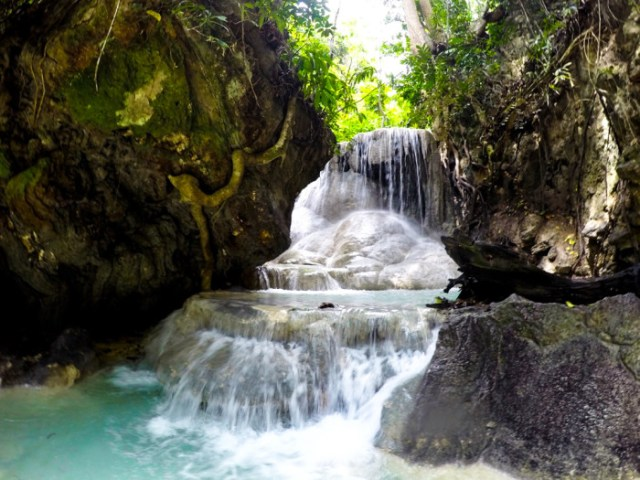 Oslob Cebu waterfalls