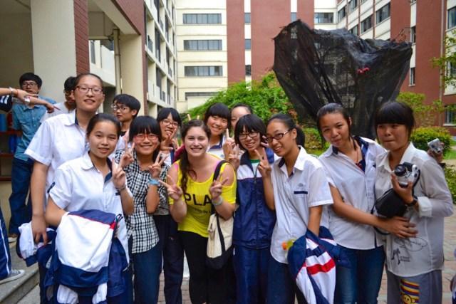 teach English China