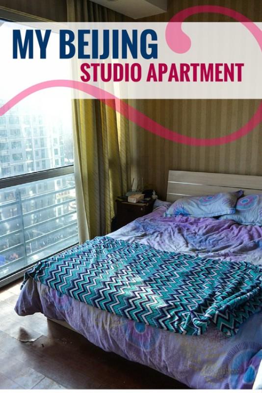 Living in a Beijing studio apartment