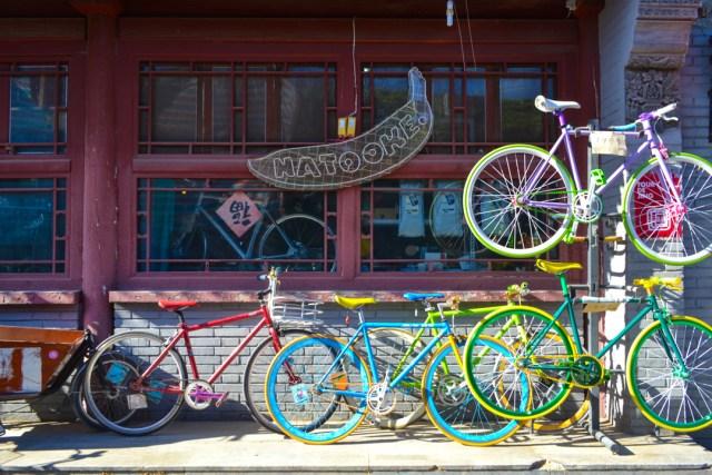 Beijing hutong bikes