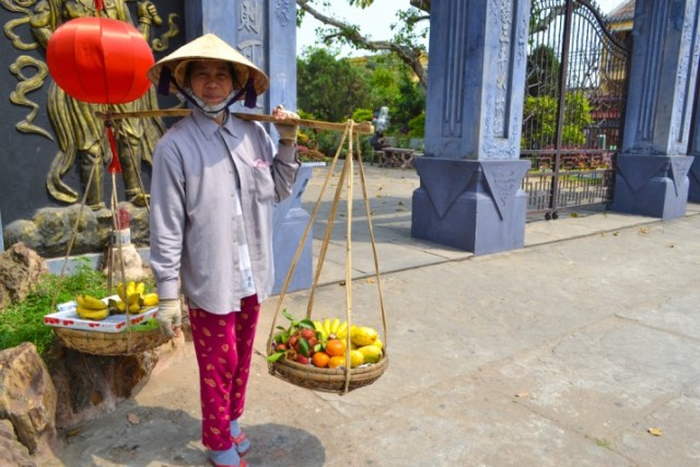 Hoi An fruit seller