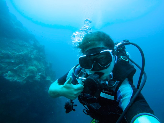 Becoming an Advanced Diver in the Philippines