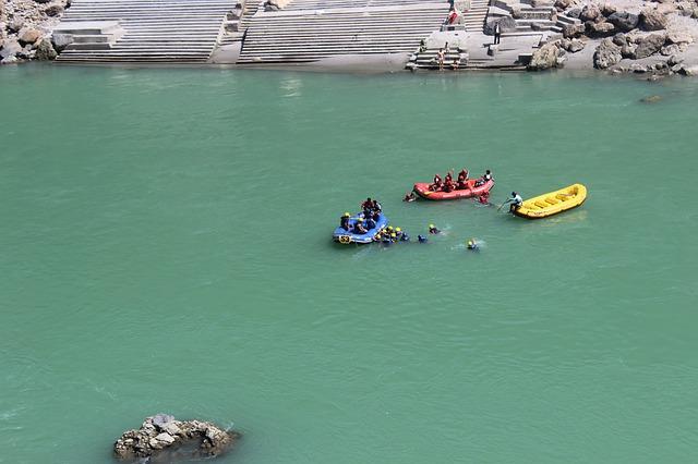 India river rafting