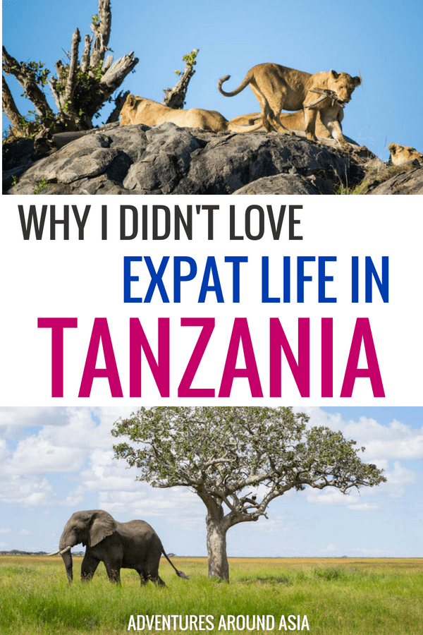 I didn't love living in Tanzania as much as I thought I would. Here's why I didn't love expat life in Africa. #tanzania #expat #arusha #africa #travel #digitalnomad