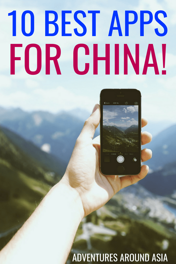 Are you traveling to China? Here are 10 China Apps you need to download before your China trip! #china #app #travel #asia #expat