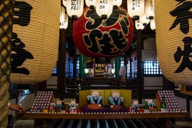 japan cat shrine