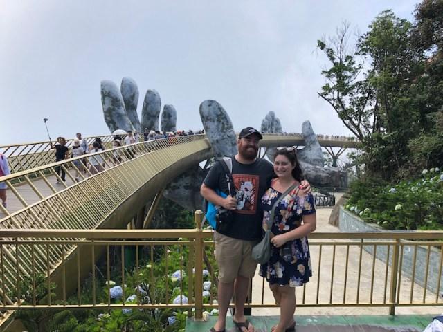 Ba Na Hills golden bridge