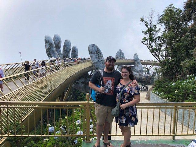 Ba Na Hills golden bridge