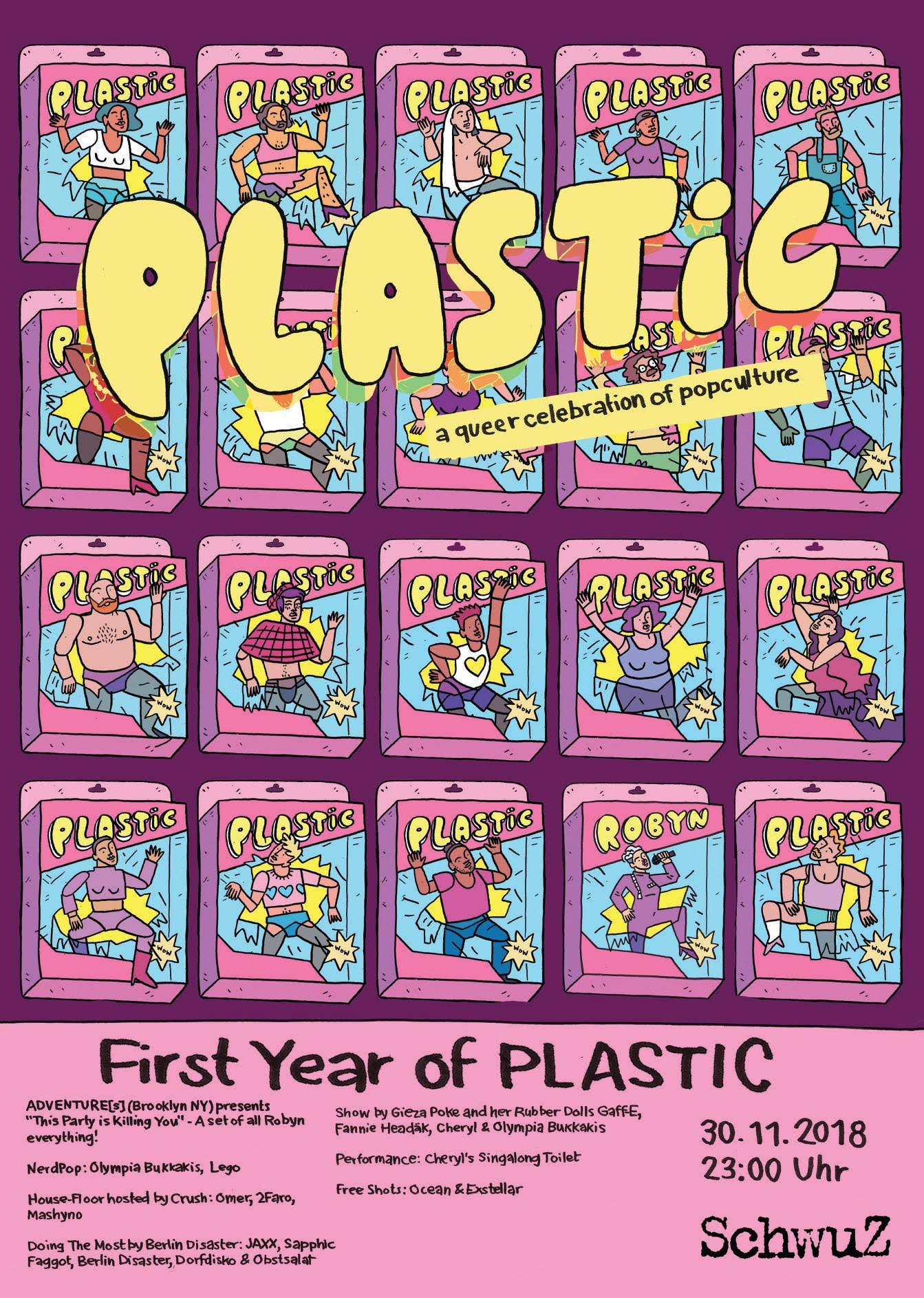 1 Year of Plastic – Robyn Special: This Party Is Killing You | 30 Nov in Berlin!!