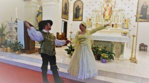 John and renaissance lady dance pavane