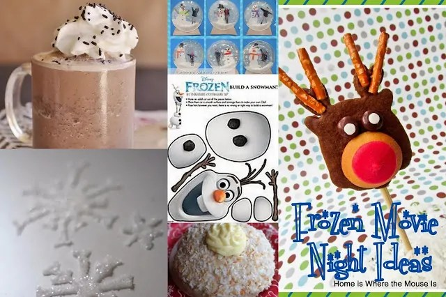Frozen Movie Night Ideas and Inspiration