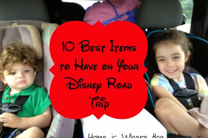 10 Best Items to Have on Your Disney Road Trip