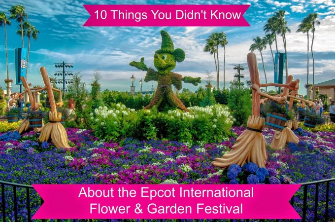 10 Things You Didn't Know | Epcot International Flower & Garden Festival