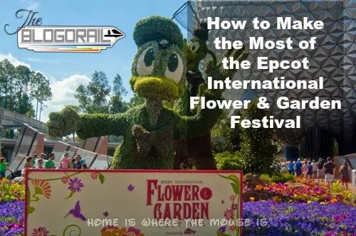 How to Make the Most of Your Day at the Epcot International Flower & Garden Festival
