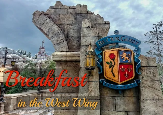 Be Our Guest Breakfast Experience