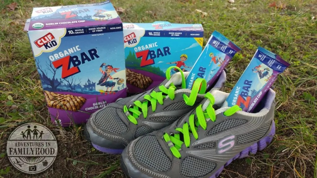 Get Energy for Your Family's Runs with Clif Kid Zbars!