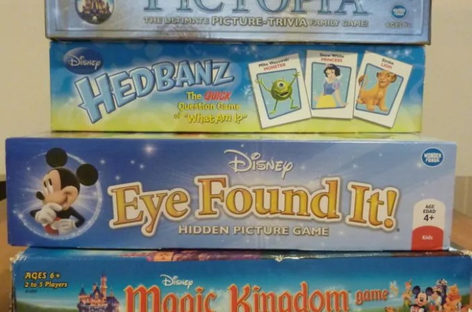 Disney Family Game Night