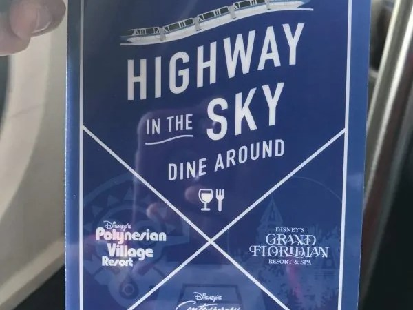 Highway in the Sky Dine Around | Is it Worth it?