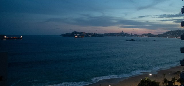 Sunset in Acapulco
