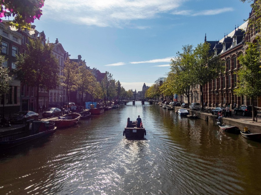 Canal, Amsterdam, Netherlands