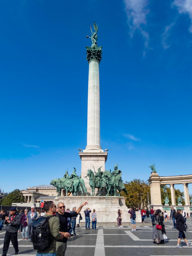 Heroes' Square, Budapest, Hungary