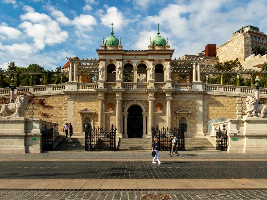 Castle Gardens, Budapest, Hungary
