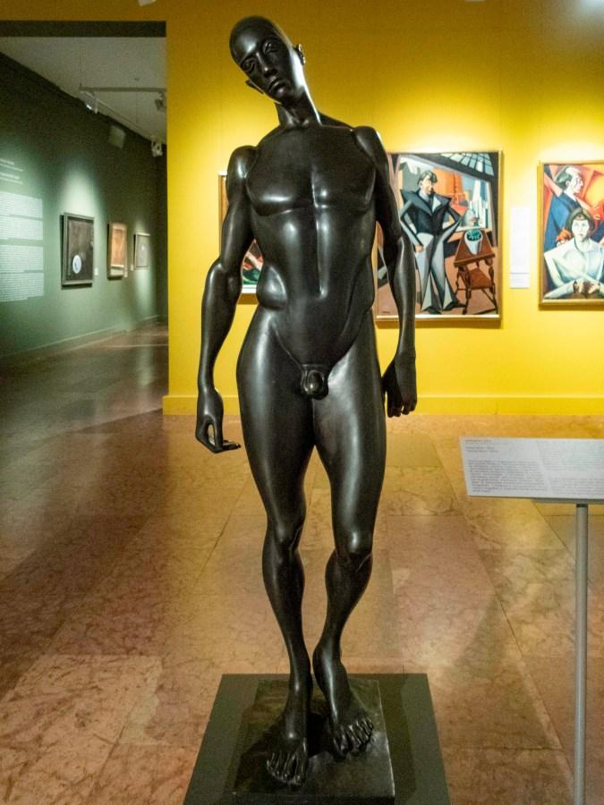 Sculpture, Hungarian National Museum, Budapest, Hungary