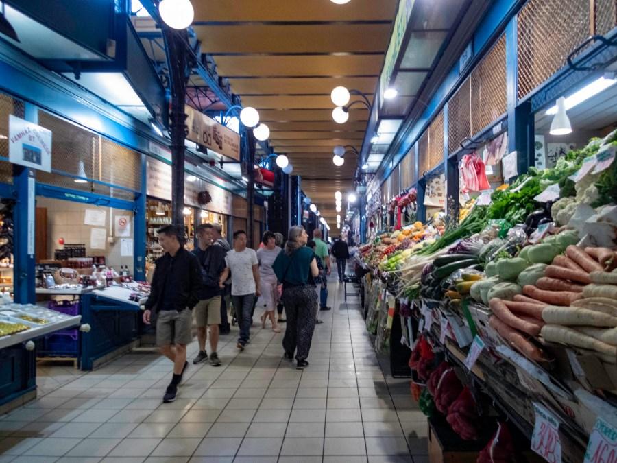 Central Market Hall, Budapest, Hungary