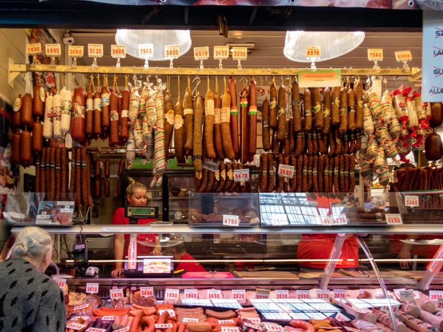 Sausage, Budapest, Hungary