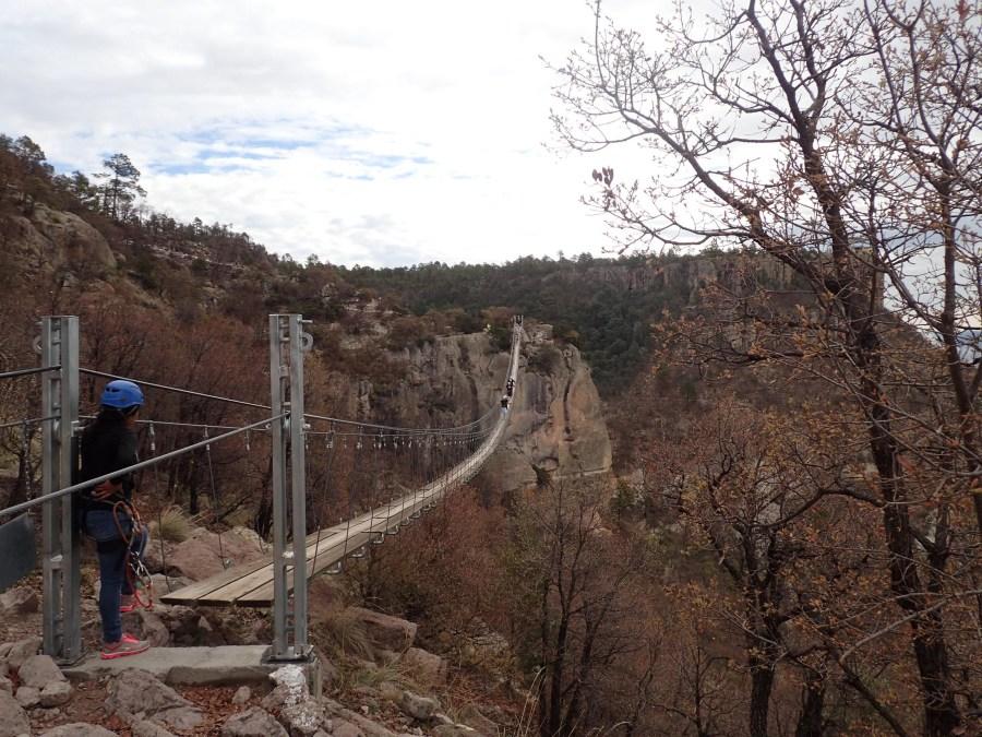 Las Barrancas del Cobre (Copper Canyon)