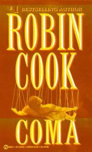 coma, Robin Cook, medical thriller,
