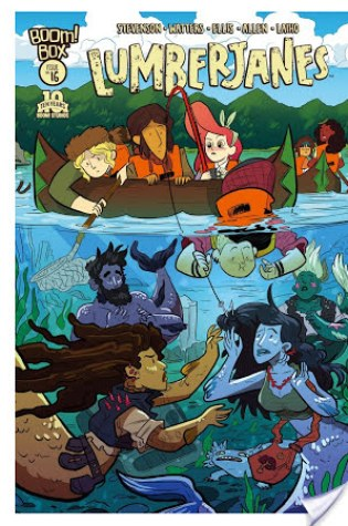 Review: (Lumberjanes #1) by Noelle Stevenson, Grace Ellis, Brooke A. Allen (Illustrator)