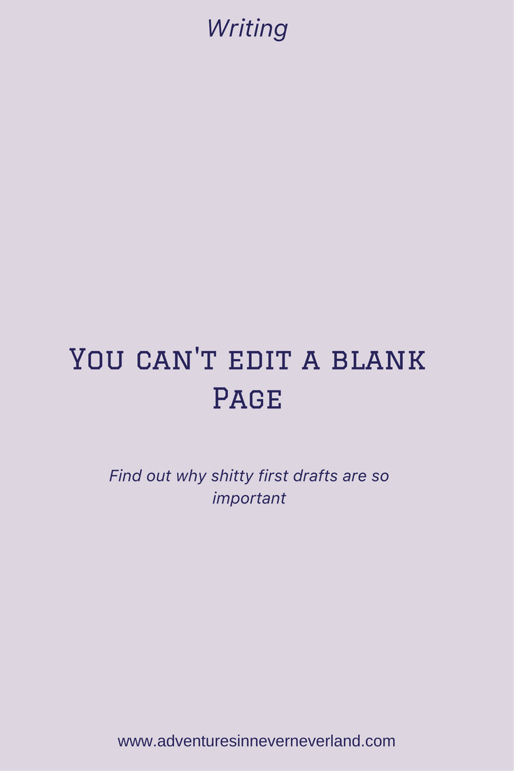 You can't edit a blank page #truth
