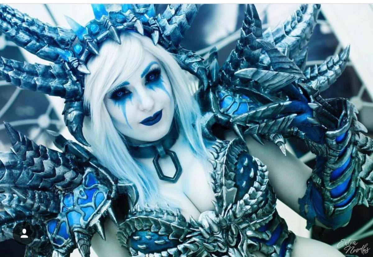 World of Warcraft: Sindragosa Cosplay by Jessica Nigri