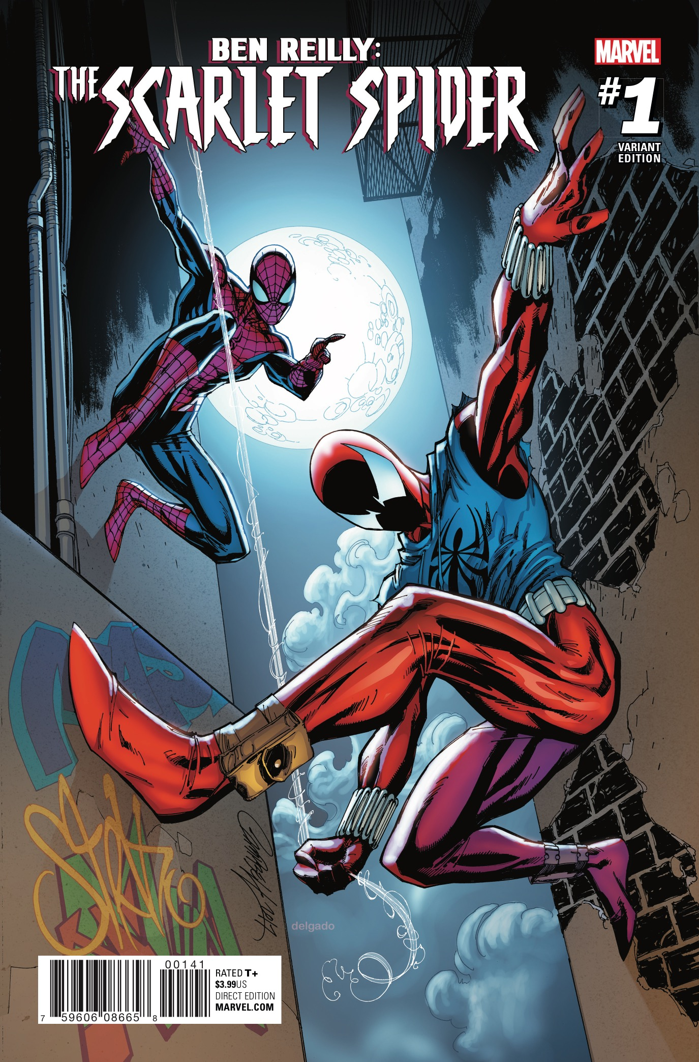 Ben Reilly The Scarlet Spider 1 Review AiPT