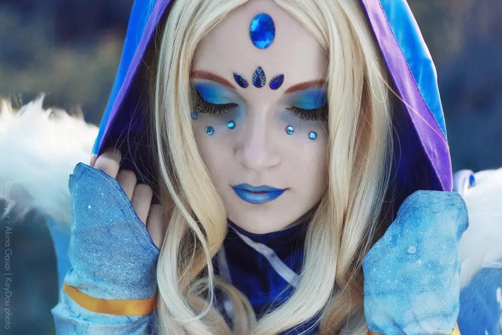 dota 2 crystal maiden cosplay by akina gasai aipt