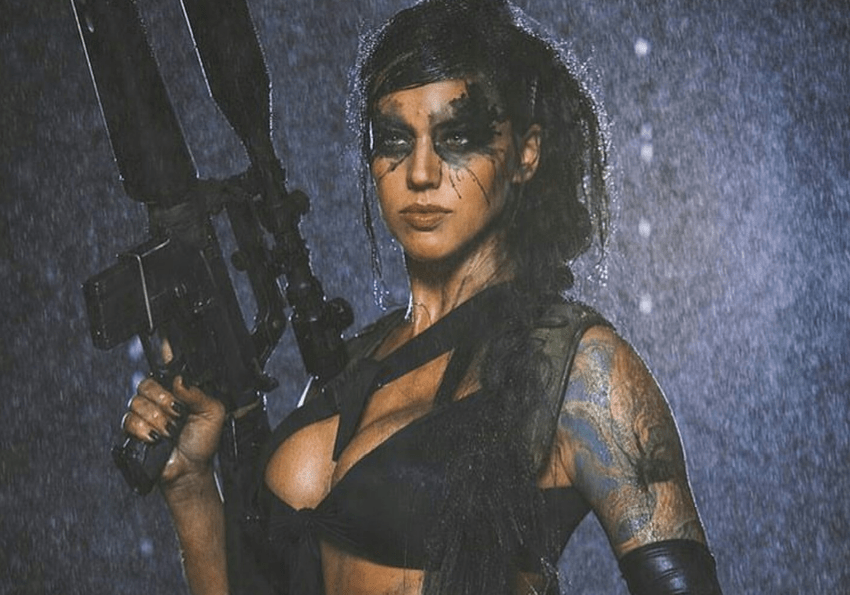 Metal Gear Solid V: Quiet cosplay by Alex Zedra