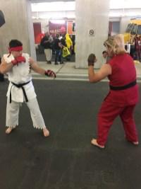 Hadouken fight!