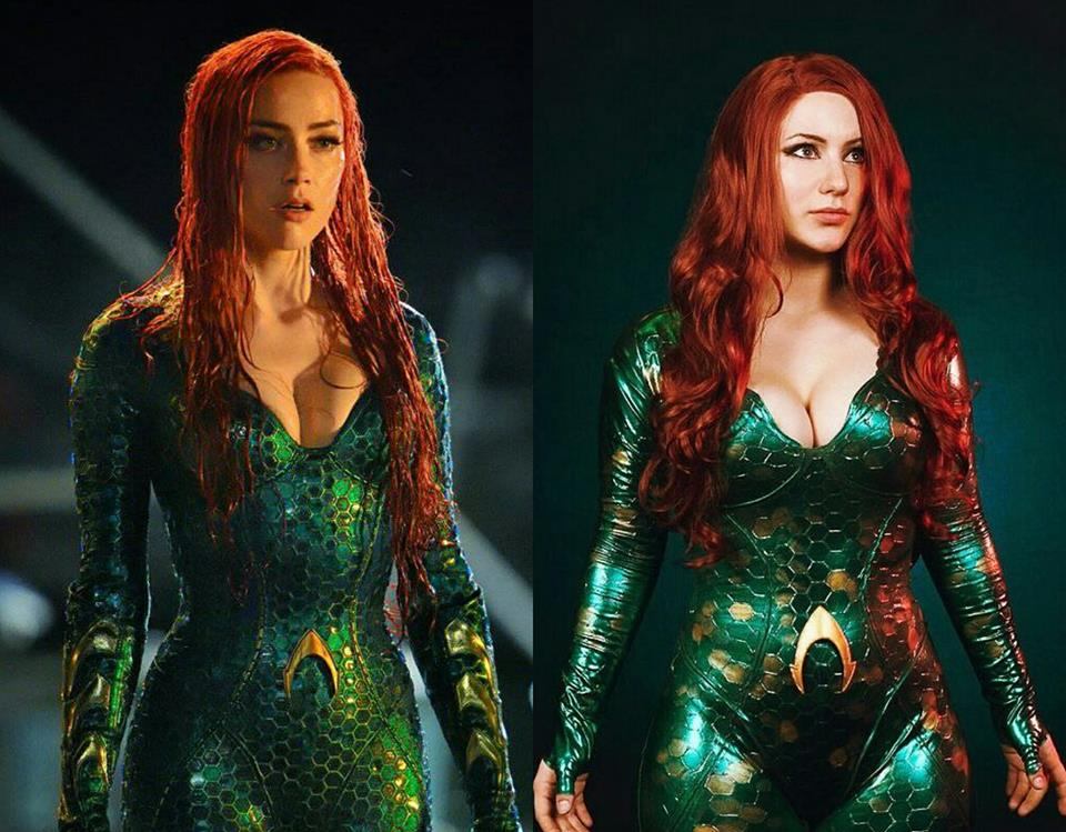 Cosplay First Look: Calypsen as Mera from 'Aquaman'