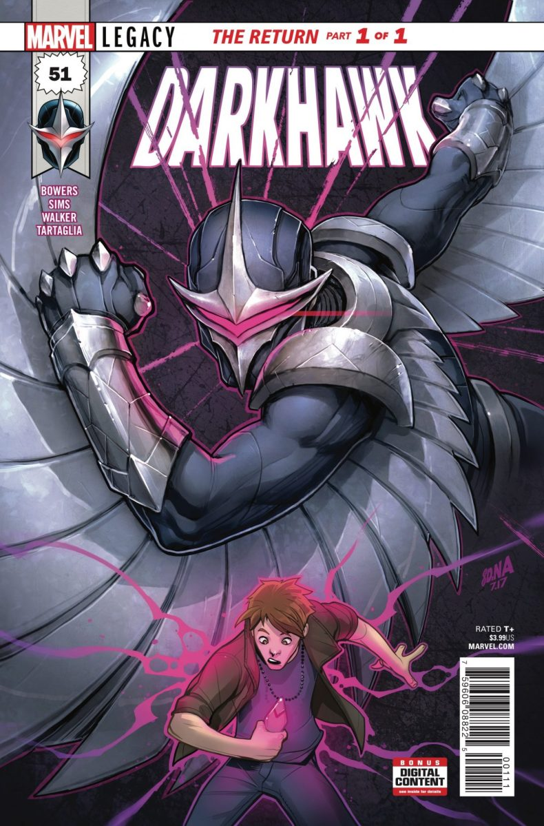 Marvel Preview: Darkhawk #51