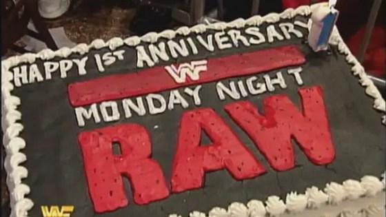 Monday Night Raw 1 Year Anniversary