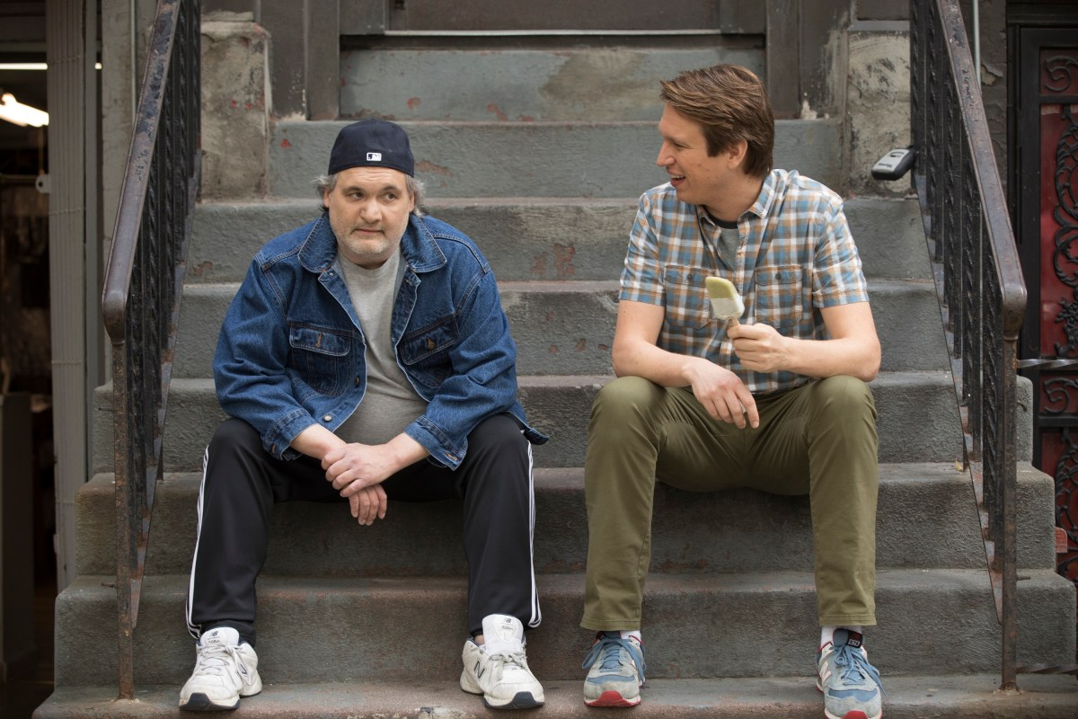 Artie Lange's real-life drug addiction takes center stage on this Sunday's 'Crashing'